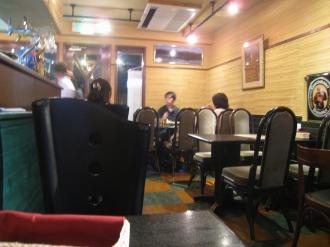マヤレストランの店内