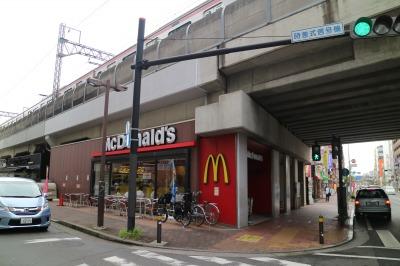 閉店する「マクドナルド武蔵小杉駅前店」