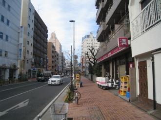 メチエ新店舗予定地(写真右手前、カクヤスの隣)