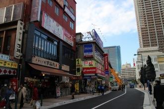 東急武蔵小杉駅南口の既存ビル