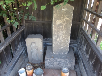 馬頭観音の石碑