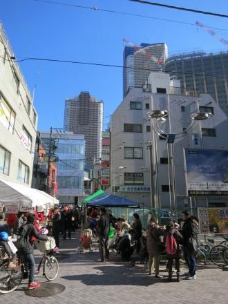 武蔵小杉駅前通り商店街のもちつき大会