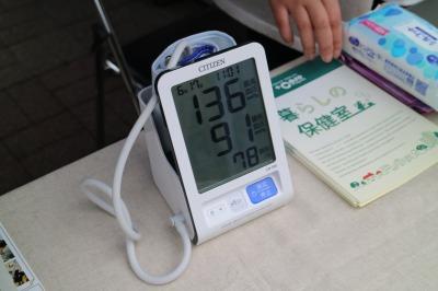 血圧チェック