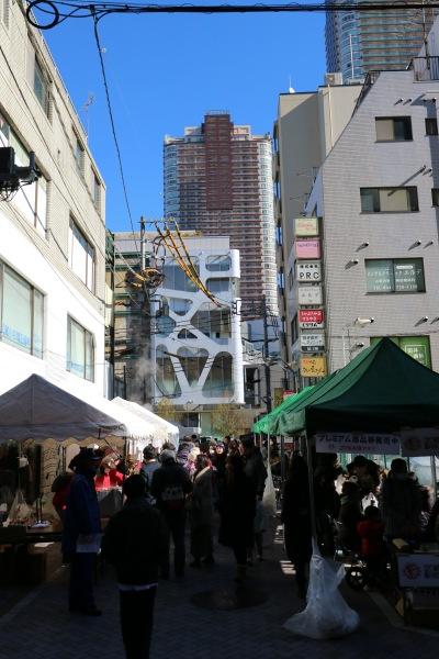 武蔵小杉駅前通り商店街の「もちつき大会」