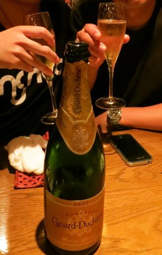 シャンパン「Canard-Duchene(カナール・デュシェーヌ)」