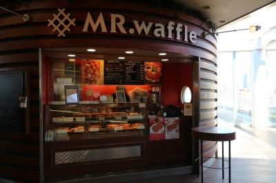 コンコースのワッフル店「MR.waffle」
