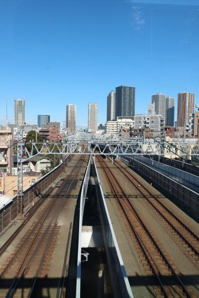 東急元住吉駅コンコースの展望スポット