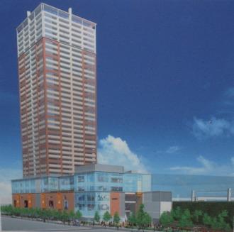 武蔵小杉駅南口地区西街区再開発ビル