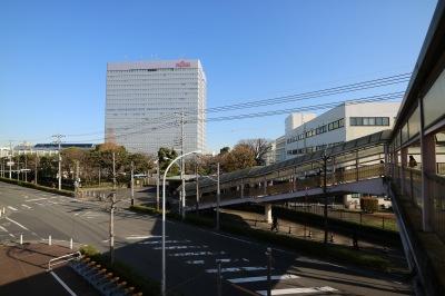富士通川崎工場への接続部