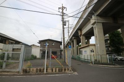 武蔵野南線・今井仲町の立坑