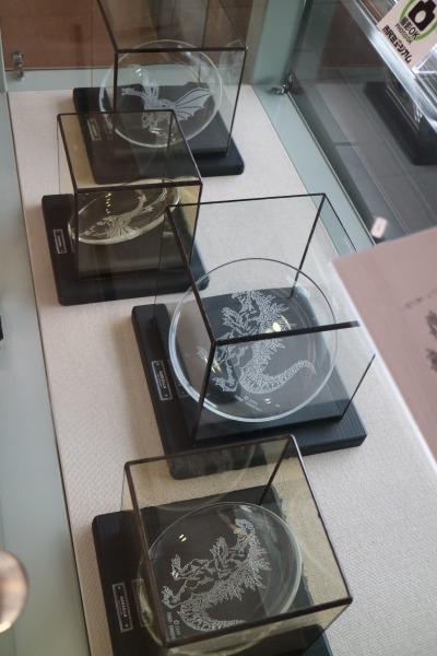 ステンドグラス工房「グラスイン」のクリスタルプレート