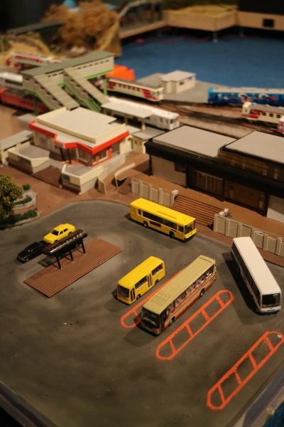 三陸鉄道のジオラマ