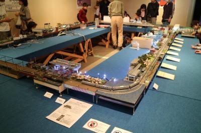 川崎市周辺の鉄道ジオラマ