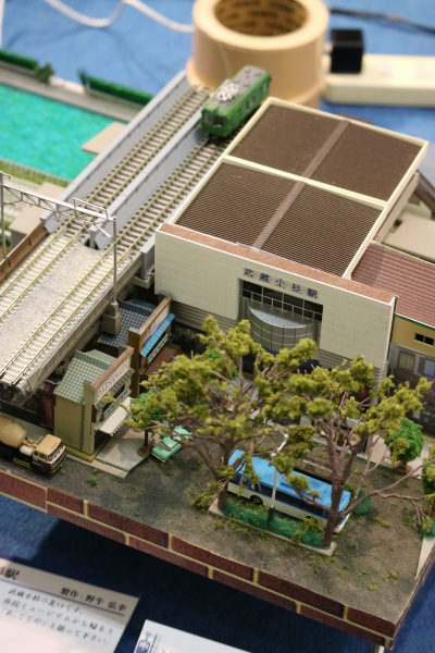 JR武蔵小杉駅のジオラマ