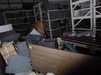 収蔵庫の内部