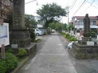 西明寺の入口