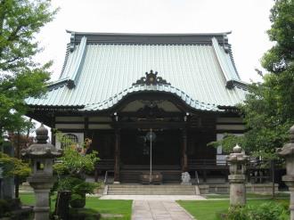 西明寺の本堂