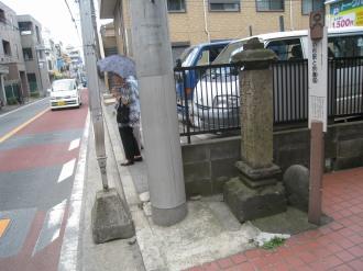 中原街道と供養塔