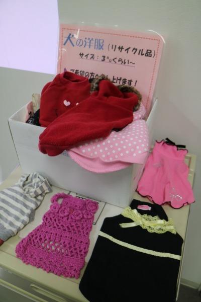 犬の洋服リサイクル品の譲渡