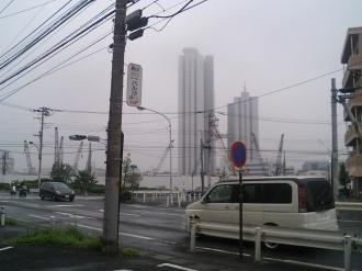 2005年7月14日の中丸子地区