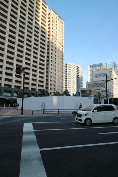 グランツリー武蔵小杉向かいの店舗・オフィス複合ビル建設地