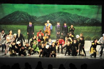 昨年、第5回公演「多摩川伝」