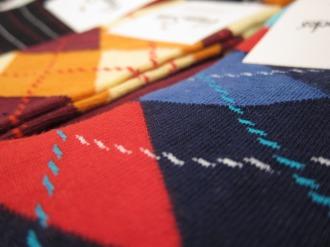 「Happy Socks」の素材感