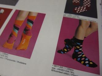 「Happy Socks」のカタログより