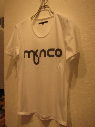 「むさこTシャツ」全体(ホワイト)