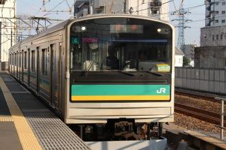 八丁畷駅の南武支線