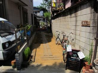 「HanaCafe nappa69」の入口