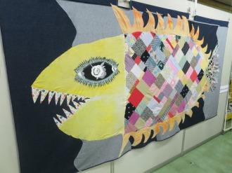 お魚の作品「猫八水族館」