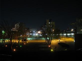 NEC玉川ルネッサンスシティの広場