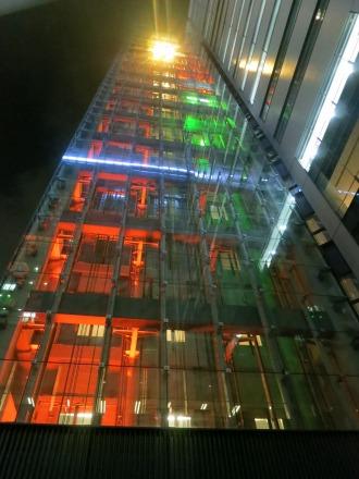 エレベーターの照明