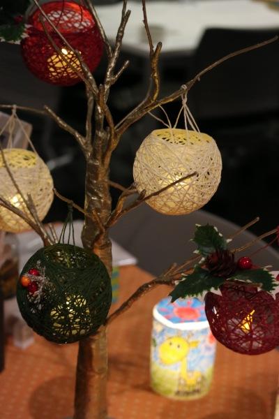 クリスマスの手作りあかりキット