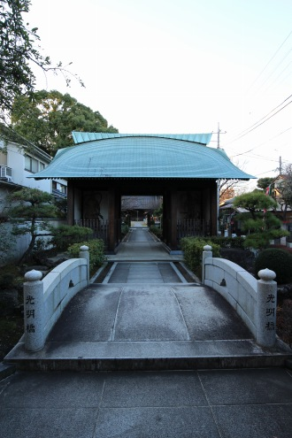 日中の西明寺