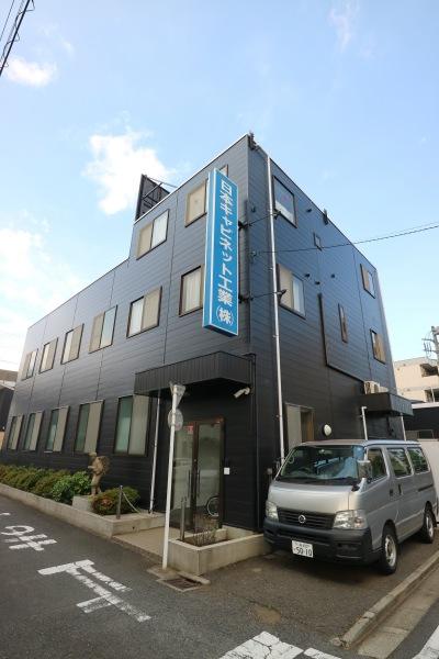 リニューアル後の日本キャビネット工業