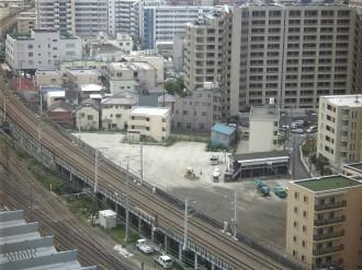 NEC玉川ルネッサンスシティより俯瞰
