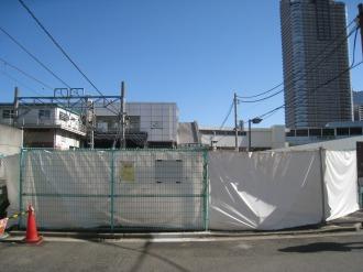 旧・東急武蔵小杉駅自転車等第3駐輪場
