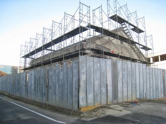 中原変電所の残存建造物