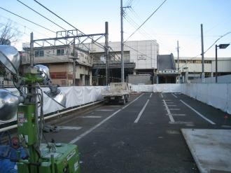 東急武蔵小杉駅自転車等第3駐車場跡地