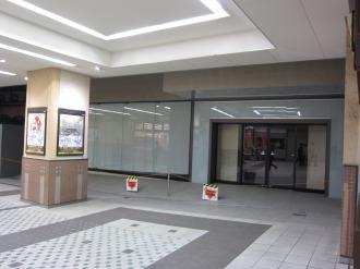 東急武蔵小杉駅直結のモデルルーム入口