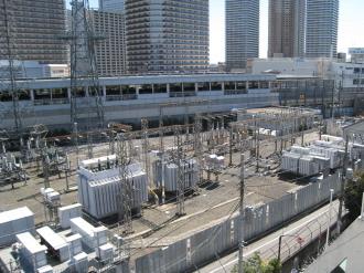 東京電力・東電不動産が所有していた中原変電所