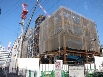 武蔵小杉駅南口地区西街区の商業施設