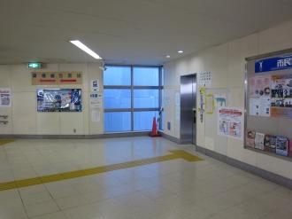 西街区(エクラスタワー武蔵小杉)との設置場所