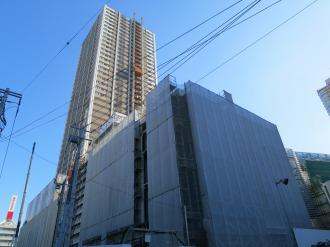 中原図書館移転先の西街区・エクラスタワー武蔵小杉商業施設