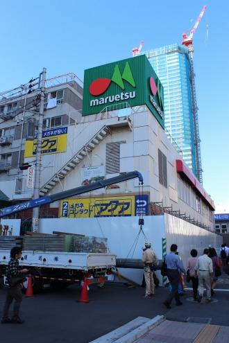 旧マルエツ小杉店の増築部分