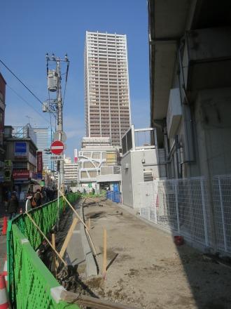 武蔵小杉駅南口地区西街区の都市計画道路