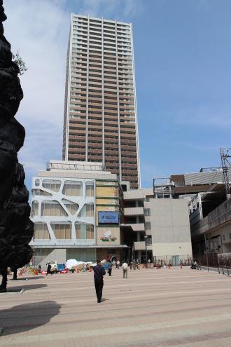 武蔵小杉駅南口地区西街区の「こすぎコアパーク」