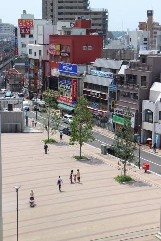 武蔵小杉駅南口の「こすぎコアパーク」